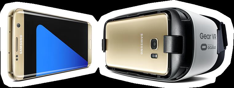 Le Samsung Galaxy S7 et le casque Gear VR