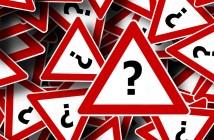 Panneau attention mystère problème point d'interrogation panne bug réseau