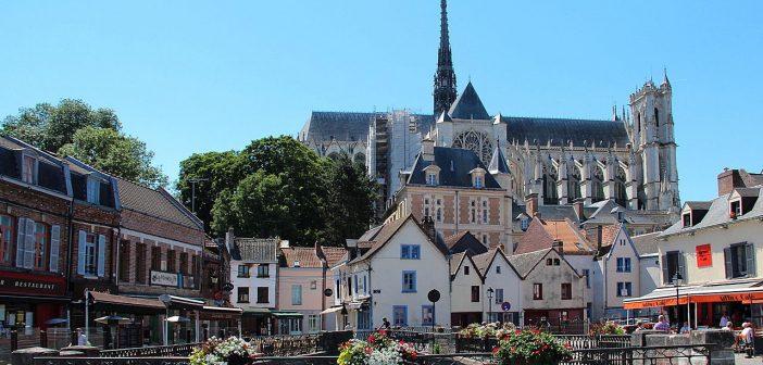 Amiens Notre Dame D'Amiens Place Du Don Somme Picardie