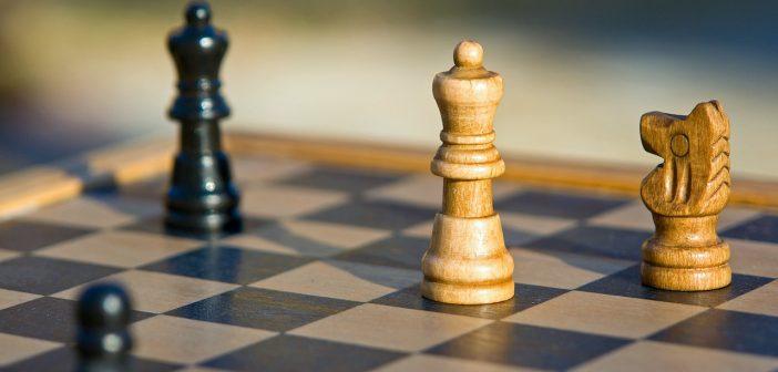 Échecs victoire défaite stratégie concurrence