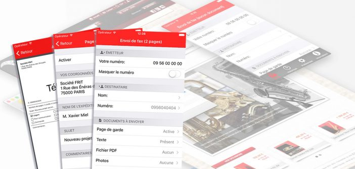 Fax for Freebox iOS Eric Reboux