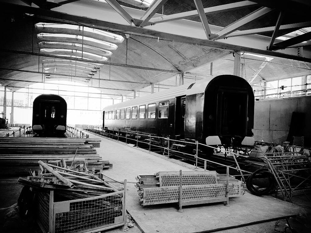 L'héritage de la Halle Freyssinet, ancien bâtiment ferroviaire, est encore bien visible