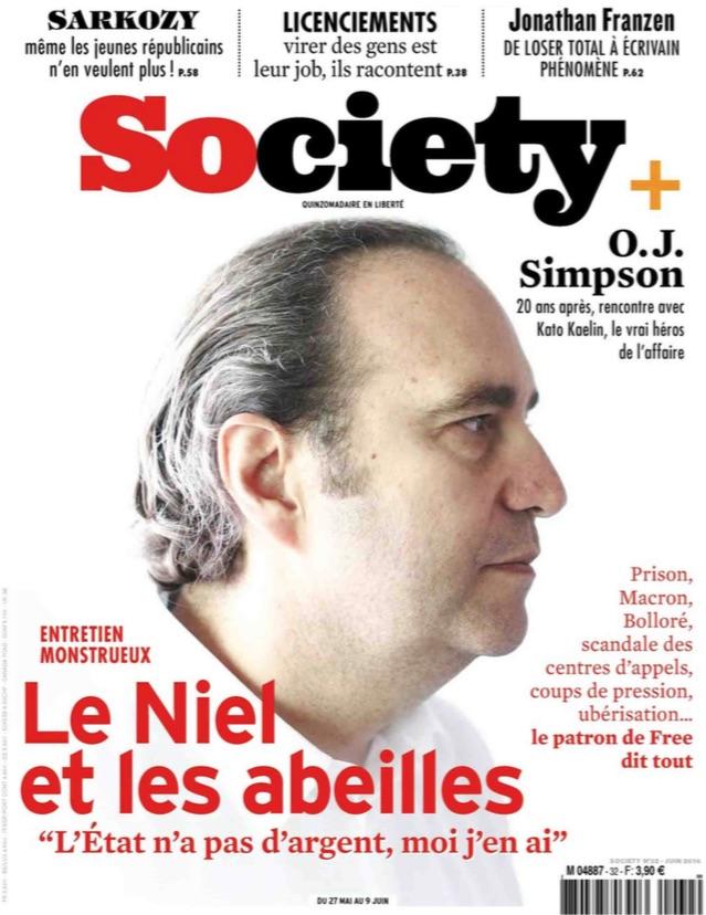 society xavier niel