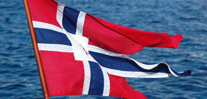 Norvège drapeau flag
