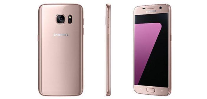 Samsung Galaxy S7 Rose Gold