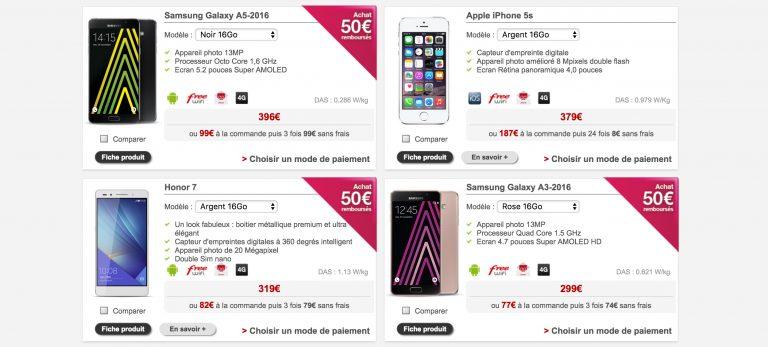 Comment séléctionner un Smartphone compatible avec la 4G de  (FREE) Boutique-free-4G-700mhz-768x347