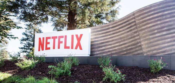 Netflix logo siège Los Gatos