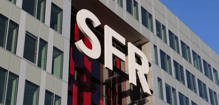 SFR Group Groupe Logo Campus Siège social Saint Denis