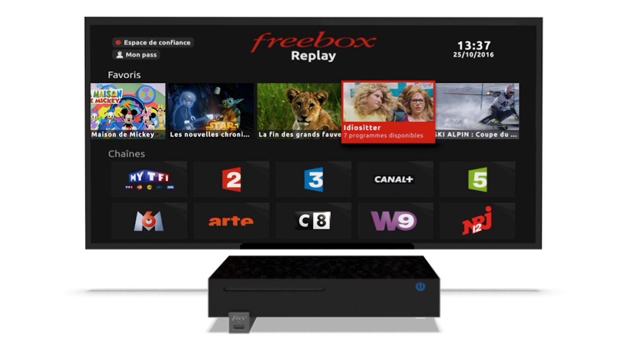 Freebox Replay 29 Nouvelles Chaines Tv By Canal Et Une Nouvelle