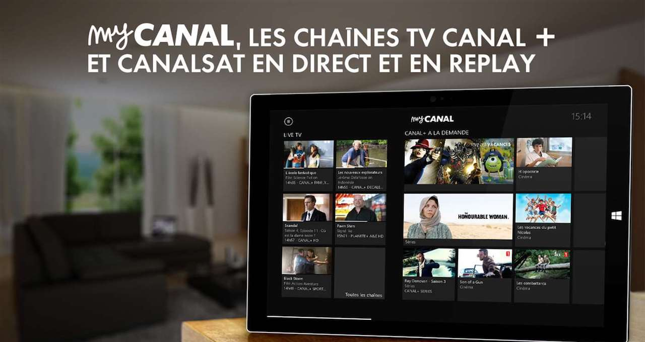 replay france t l les services restreints via my canal forumfai. Black Bedroom Furniture Sets. Home Design Ideas