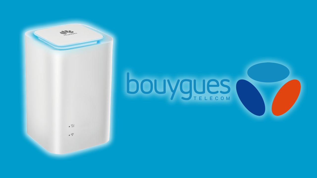 Bouygues lance sa 4g box pour un acc s haut d bit - Cacher sa box internet ...