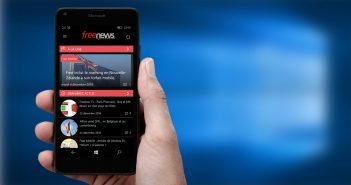 Une app Freenews officielle pour Windows