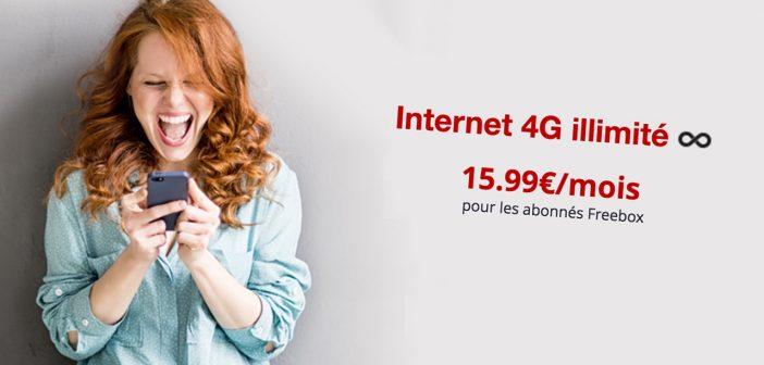 Free Mobile lance la 4G illimitée à 15,99 €par mois