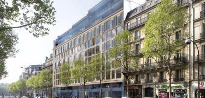 Le groupe Iliad loue un immeuble de 9 étages à Paris, boulevard Malesherbes