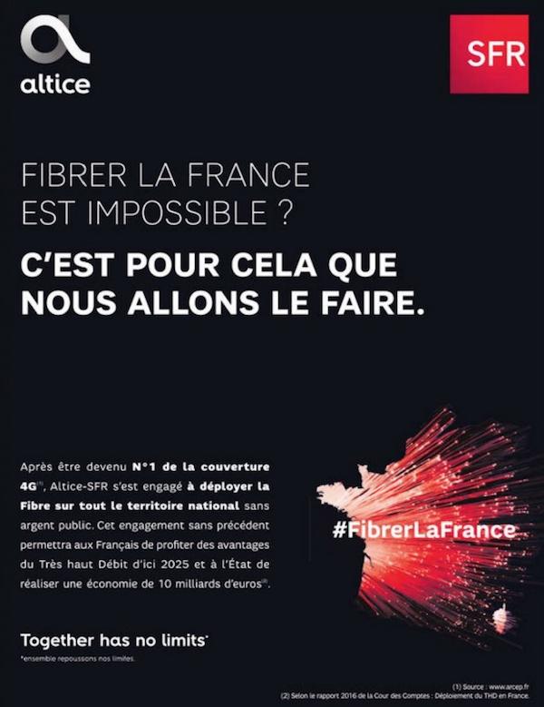 SFR fait marche arrière (mais qui y croyait ?) — Fibrer la France