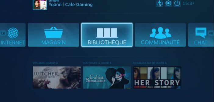 Steam Link (beta) : jouez à vos jeux PC sur l'écran de votre télé avec la Freebox Mini 4K