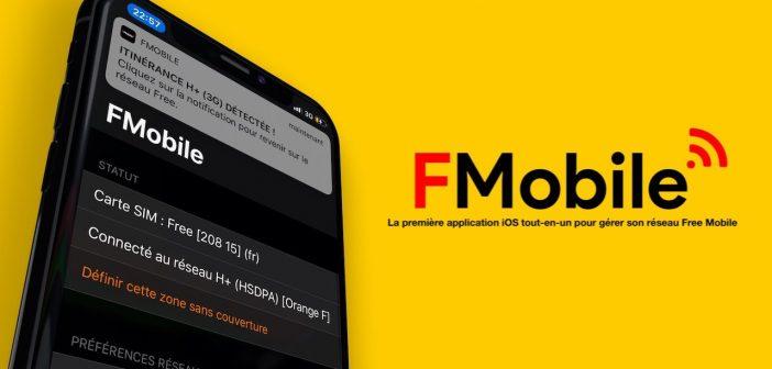 Free Mobile : dites adieu aux débits bridés en itinérance, avec FMobile pour iOS !