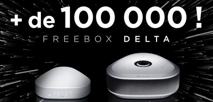 Freebox Delta : plus de 100 000 Freenautes ont souscrit à l'offre