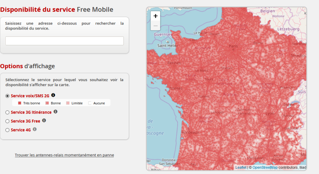 carte-interactive-free-mobile