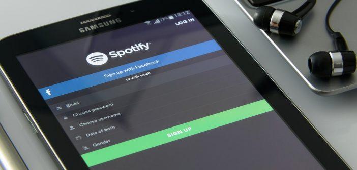 spotify sur smartphone