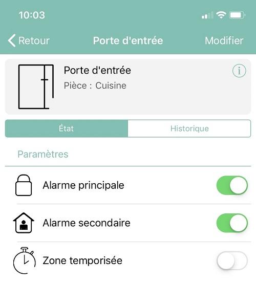 Alarme Secondaire Freebox Delta