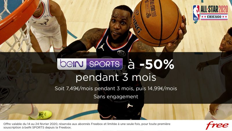 Freebox TV : offre Flash beIN Sports