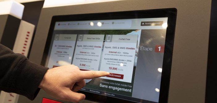 borne-interactive-free-mobile