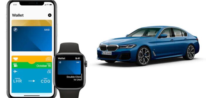 Clefs de voiture numériques proposées par Apple et BMW