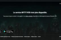 Fin du service MY TF1 VOD