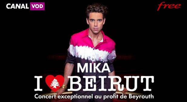 Freebox TV : retrouvez le concert de Mika en soutien aux victimes de l'explosion de Beyrouth sur le Canal VOD